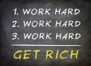 make money through hard work
