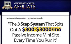 Forever-Affiliate-Website