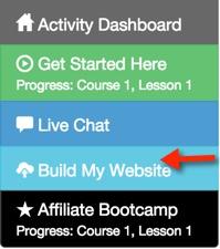 build first website