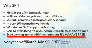 Make money with SFI