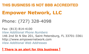 empower network scam