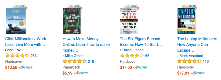 similar books on Amazon