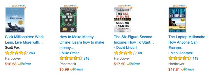 similar books on Amazon