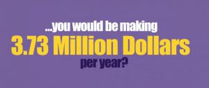 3million per year