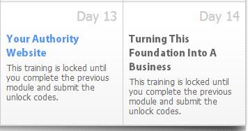 locked training