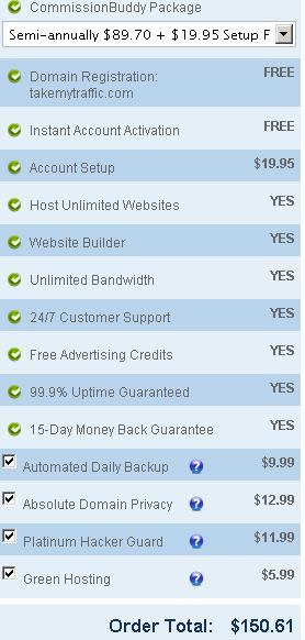 Commission-buddy-price-scheme