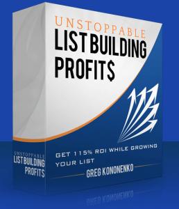 Unstoppable List Building Profits-review