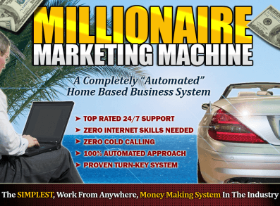 Millionaire Marketing Machine Review - Are you Willing to