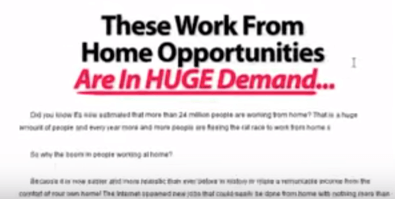 Home Job Institute Review – a Total Scam