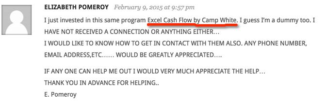 complaint-about-excel-cash-flow