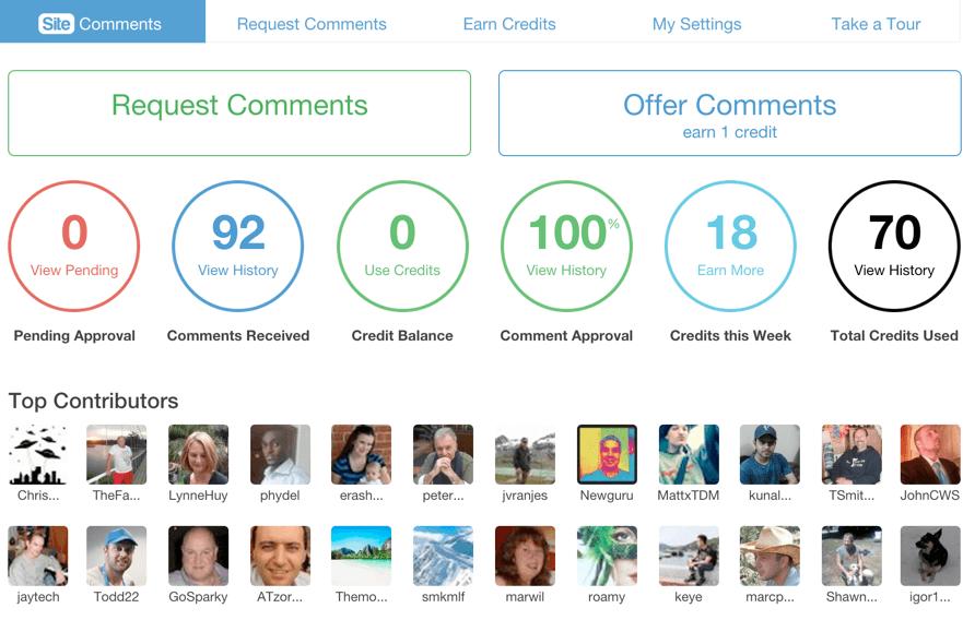 site-comments