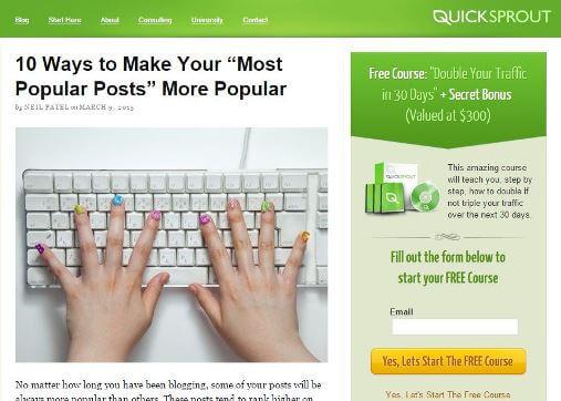 Neil-Patel-Quick-Sprout-Blog