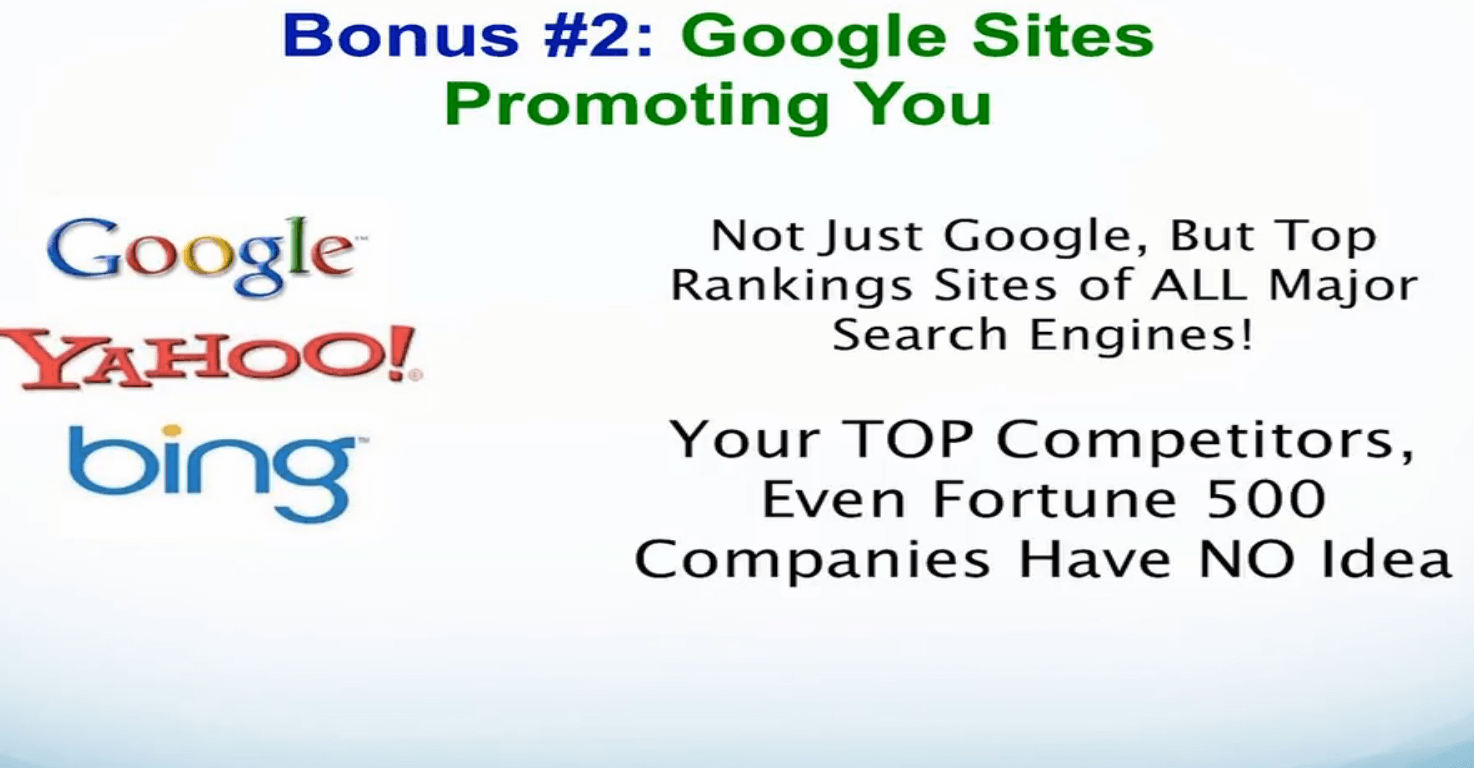 google-promoting-website