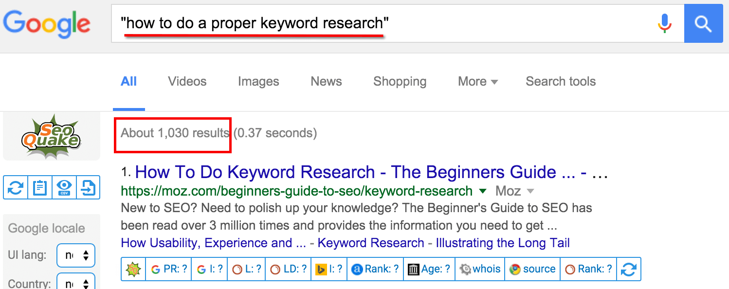 real-search-results