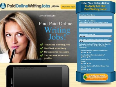 academic writing jobs online What we do academic writer jobs is one of the top uk based company offer freelance writing jobs and writer jobs with more than a thousand freelance writers and.