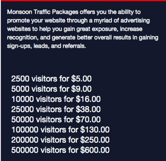 traffic-packages