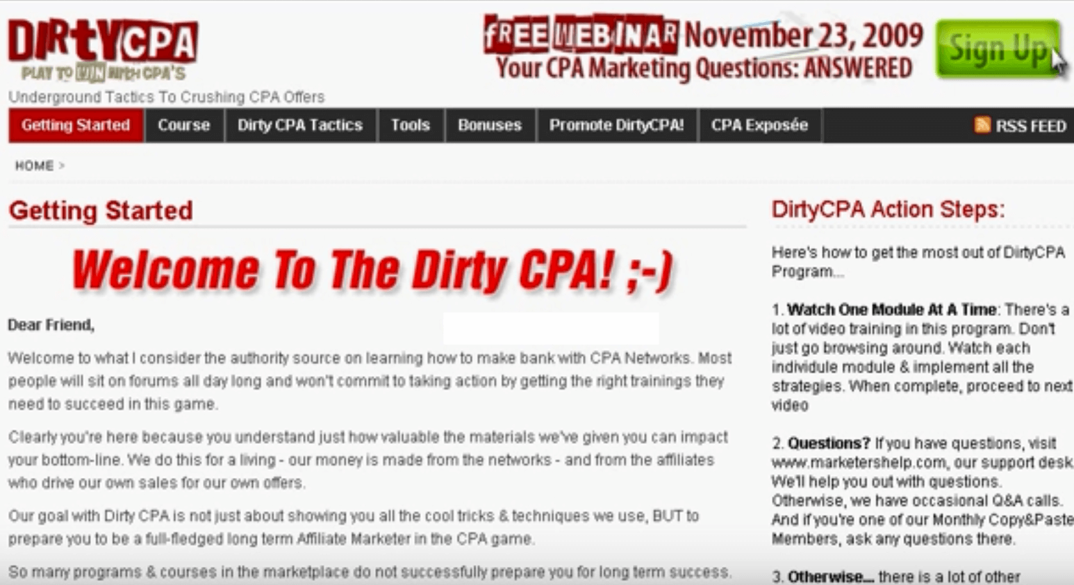 Dating cpa method