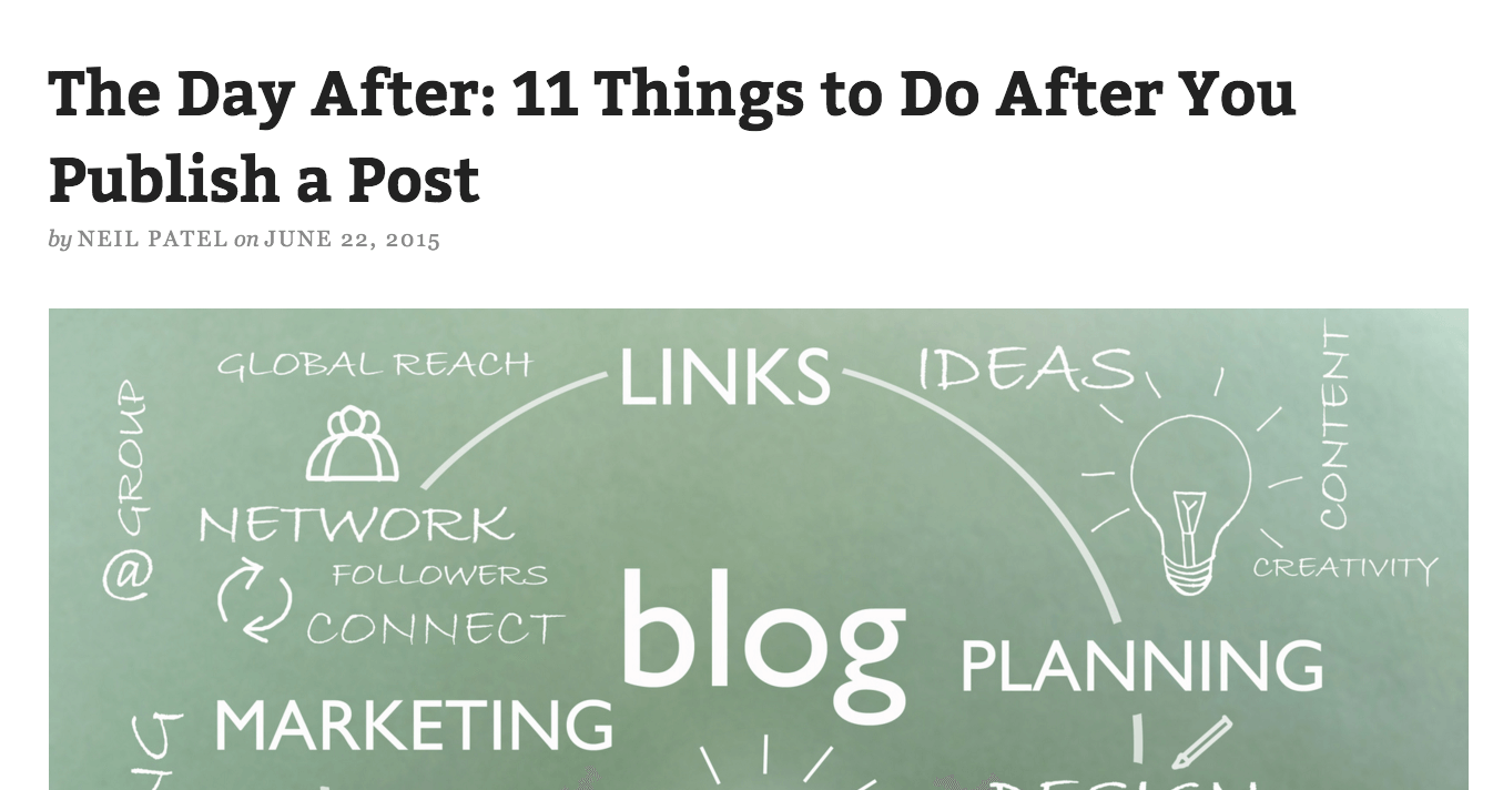 things-to-do-after-publishing-post