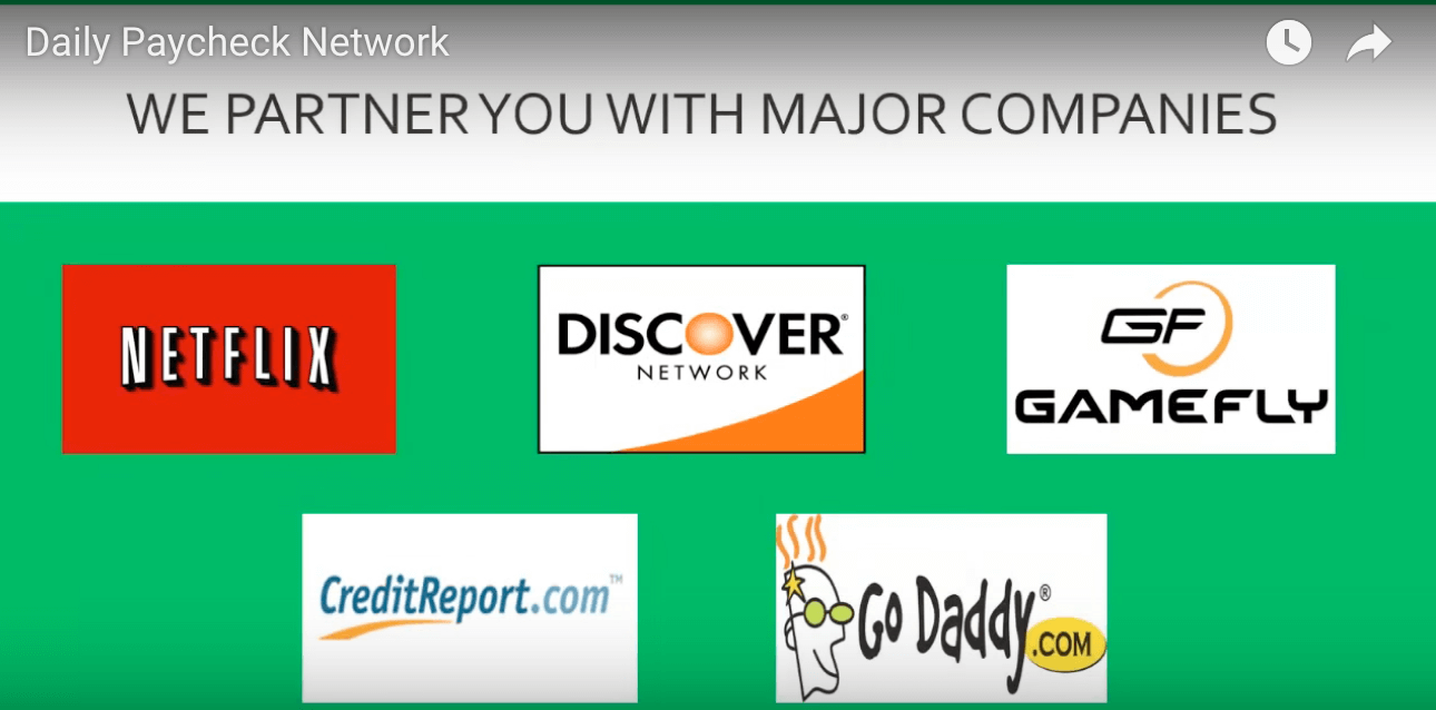 Daily-Paycheck Network-partners