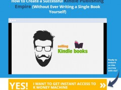K Money Machine Review – Is Selling Kindle Books Can Make You Rich in as little as One Week?