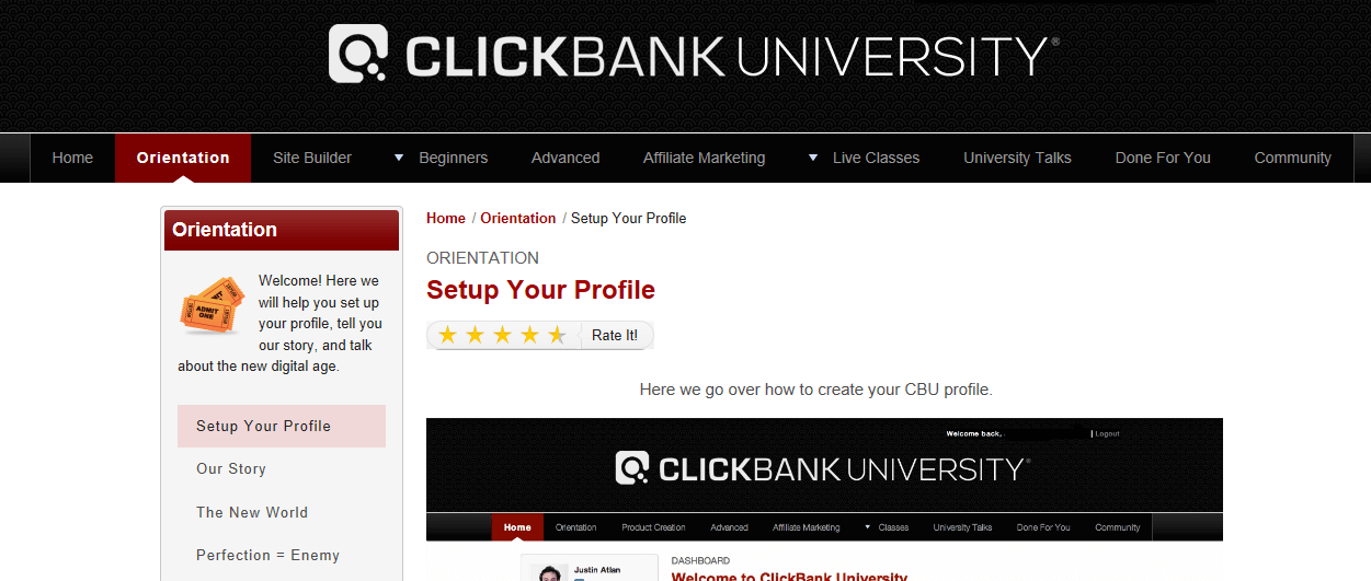 clickbank-university-members-area