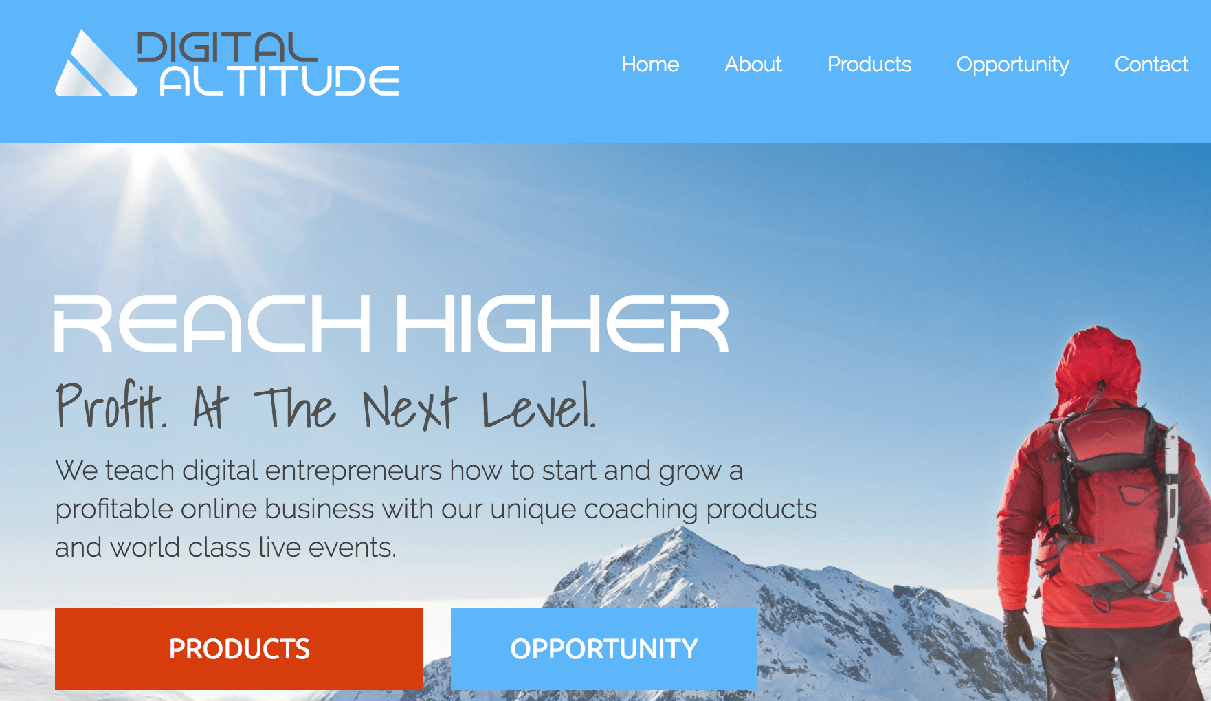 digital-altitude-website