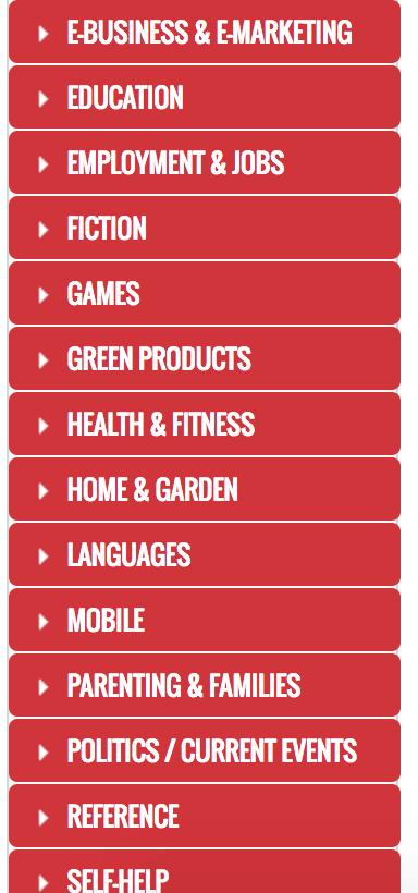 clickbank-categories
