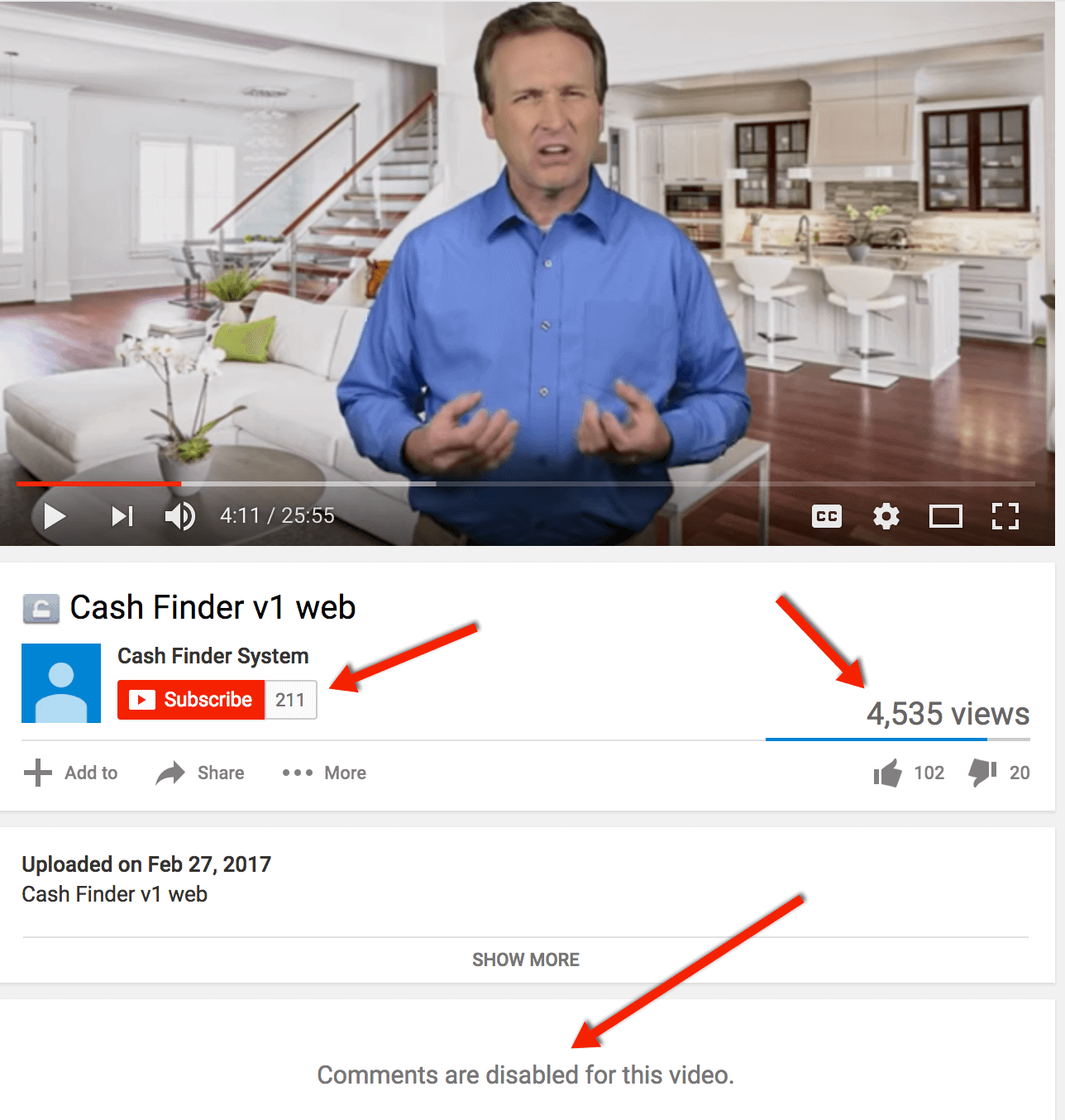 Cash Finder System youtube