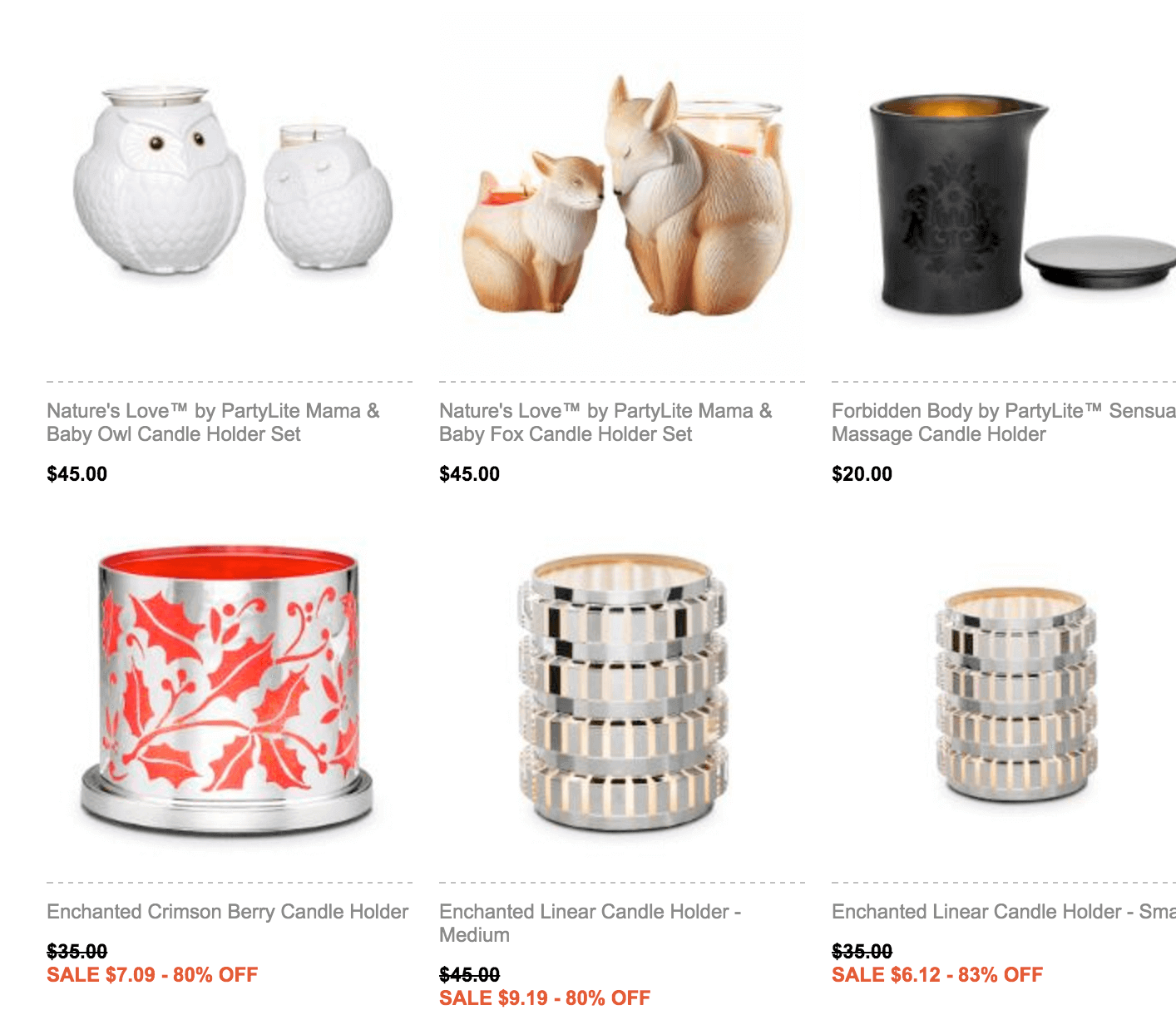 partylite products