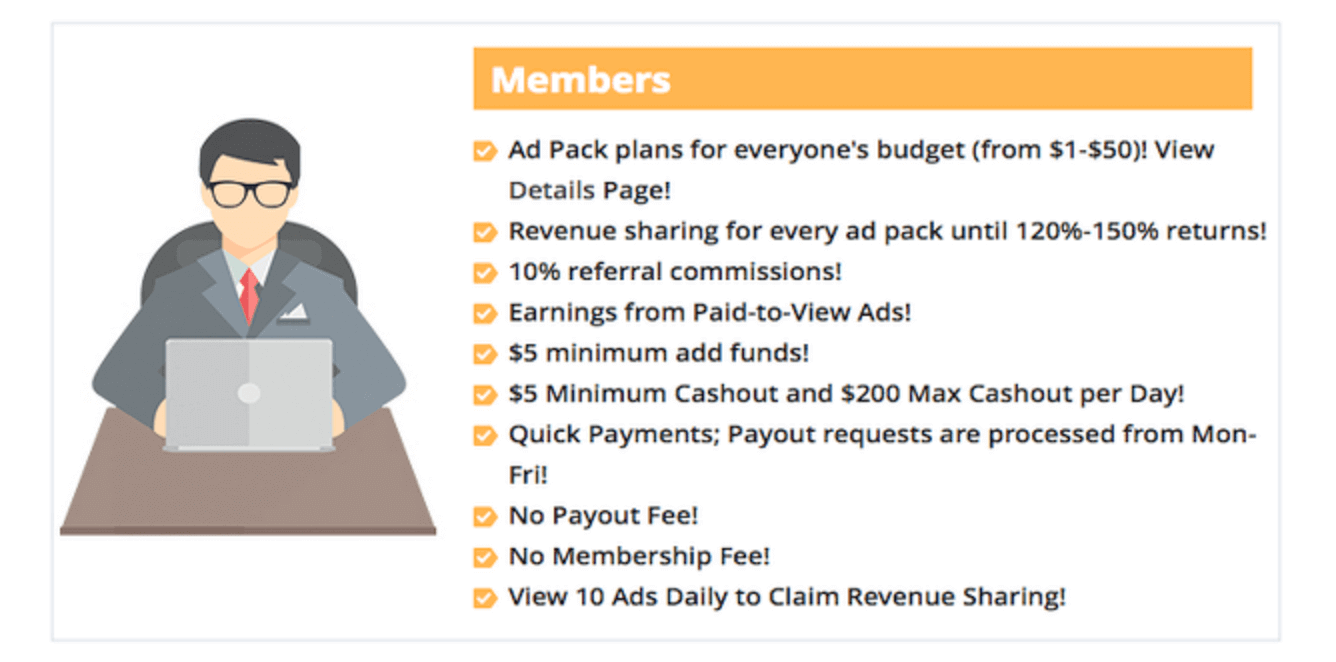 My Paying Ads benefits