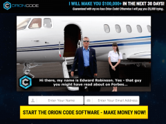 Is Edward Robinson's Orion Code a Scam? Yes, It is.