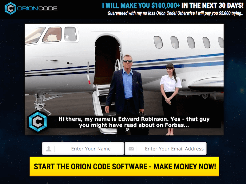 Is Edward Robinson's Orion Code a Scam