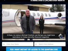 Is Michael Crawford the Quantum Code a Scam? Yes, It is.