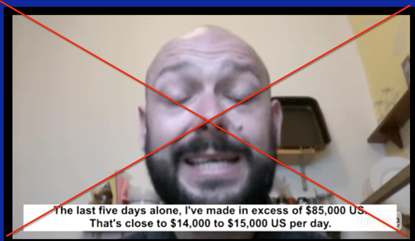 Cobalt Code fake testimonial