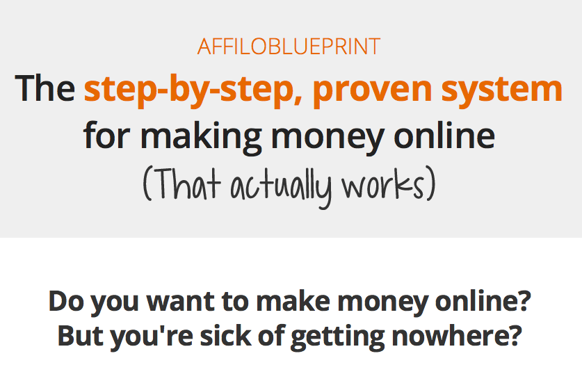 Affiloblueprint step-by-step