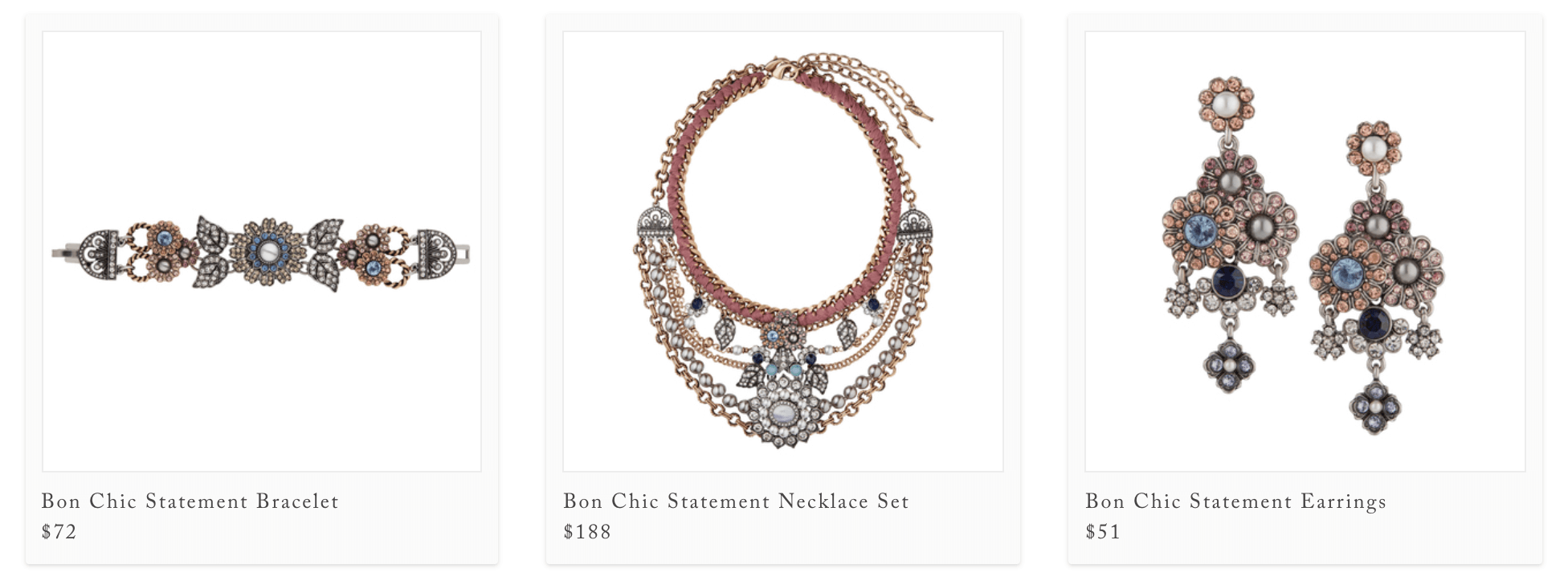 Chloe Isabel Jewelry products