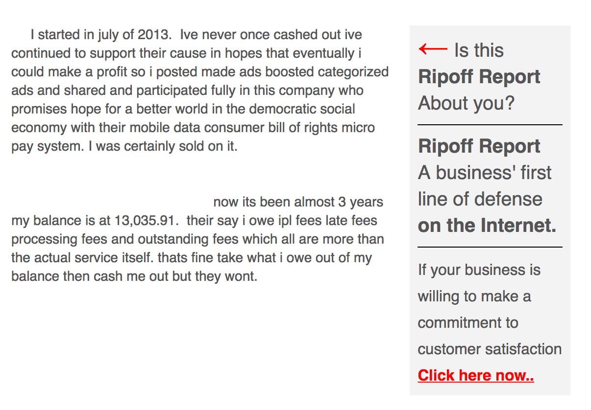 empowr complaint