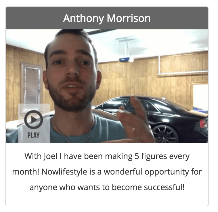New Lifestyle and anthony morrison