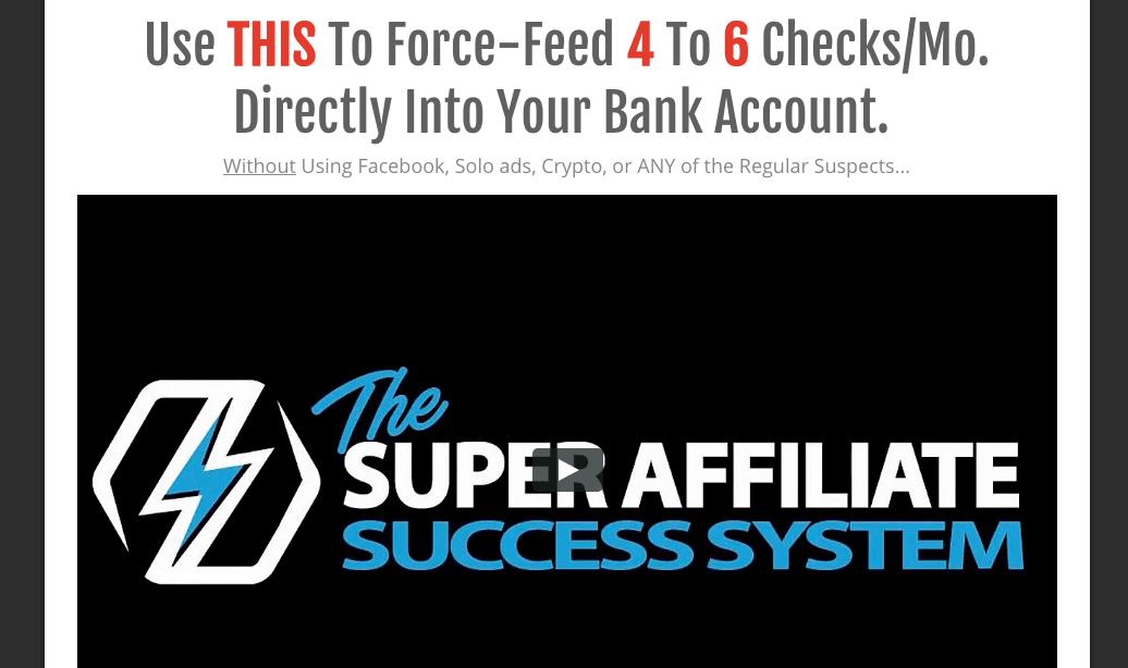 the Super Affiliate Success System