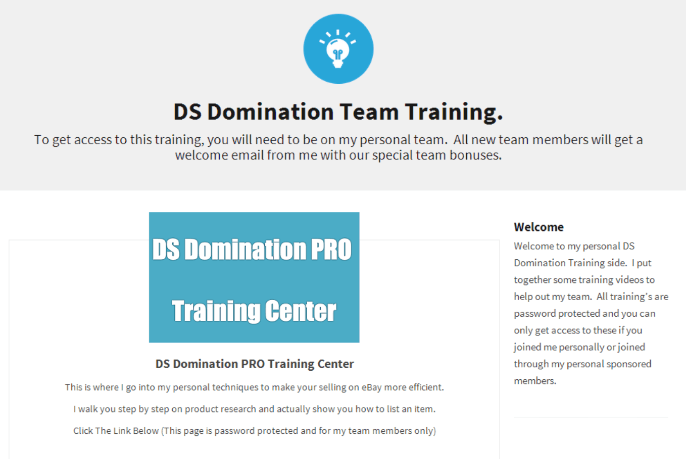 ds domination training