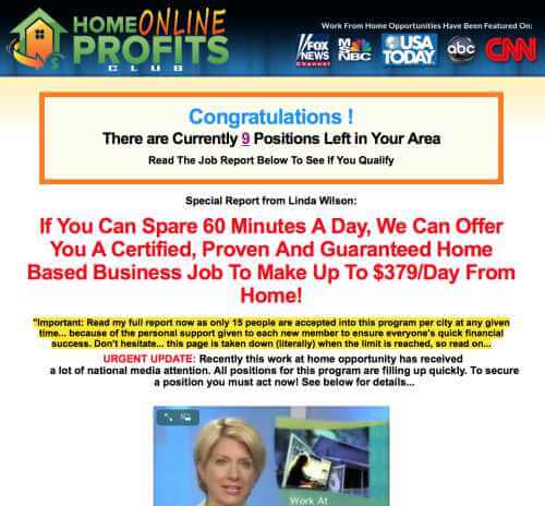 home online profits club
