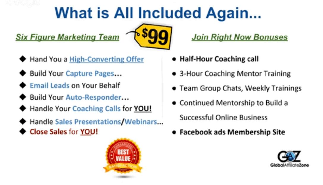 global affiliate zone package