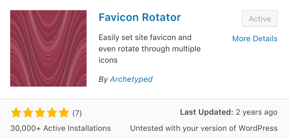 favicon rotator