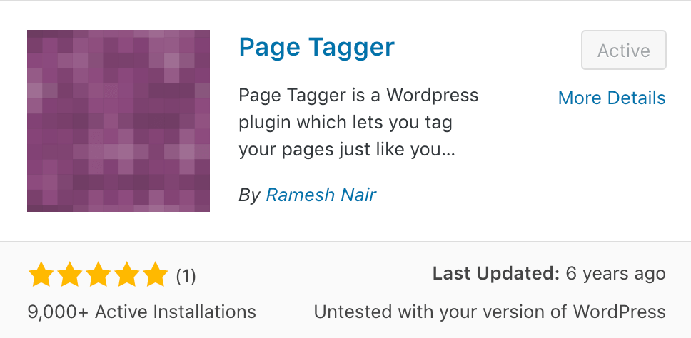 page tagger