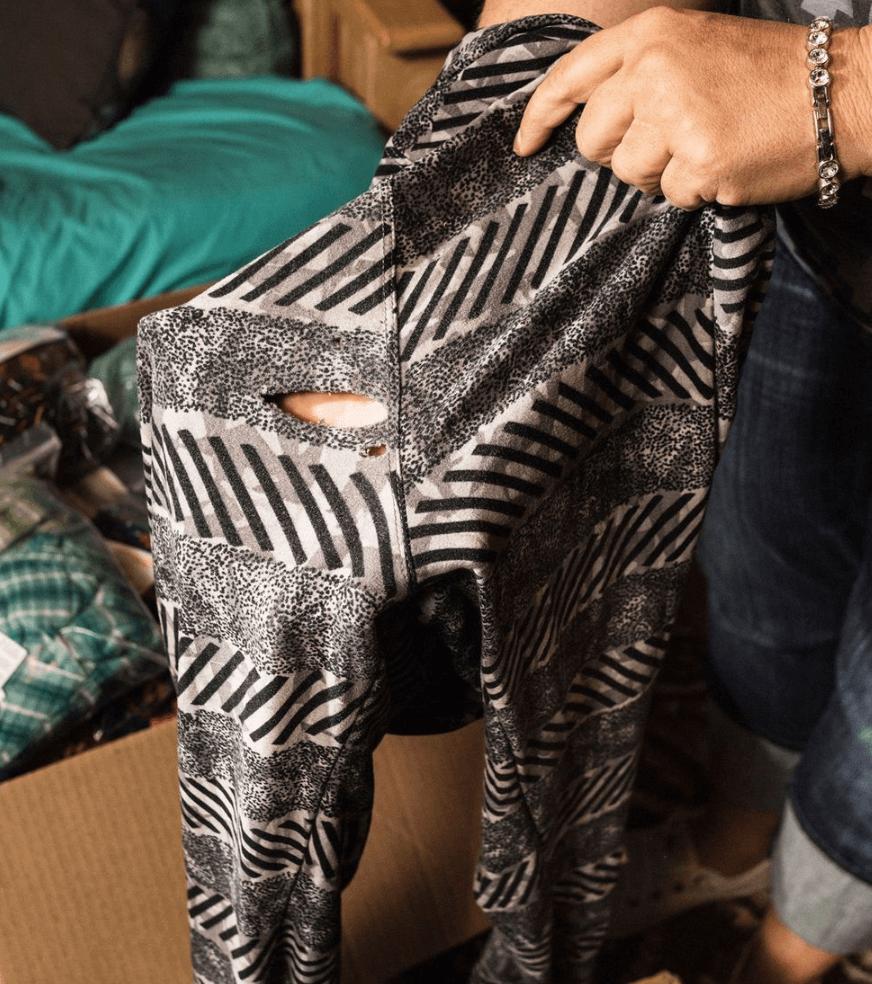 apparel - bad quality