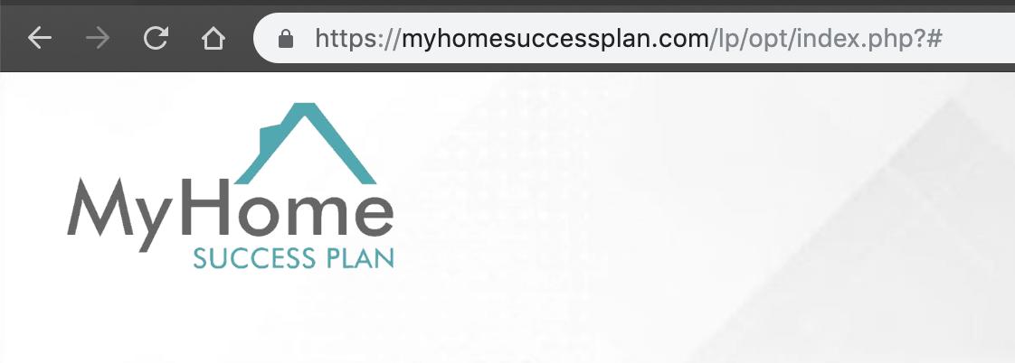 my home success plan