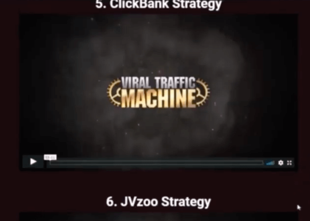 viral traffic machine training