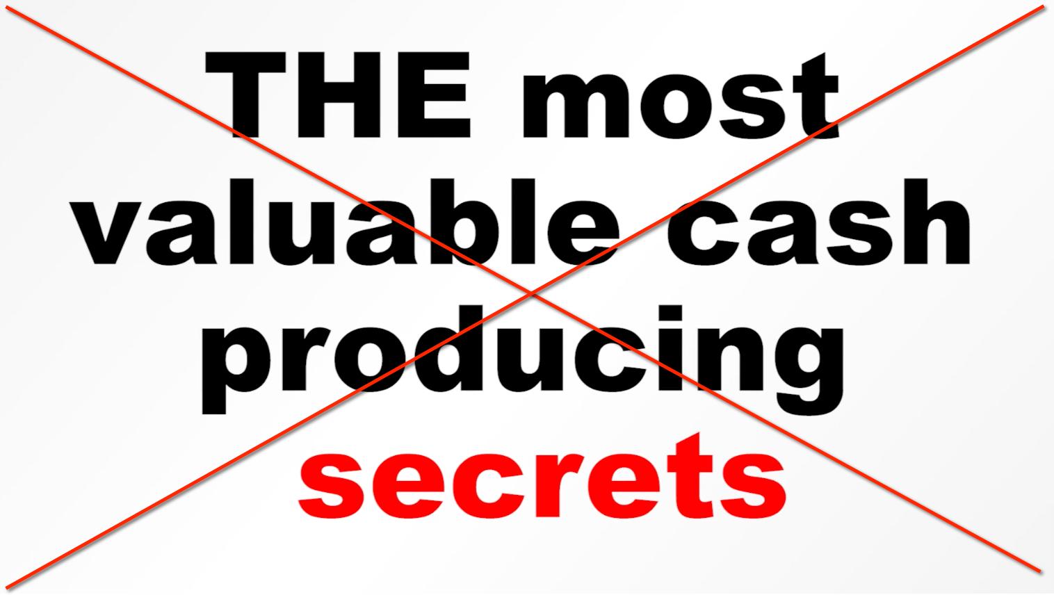cash secrets