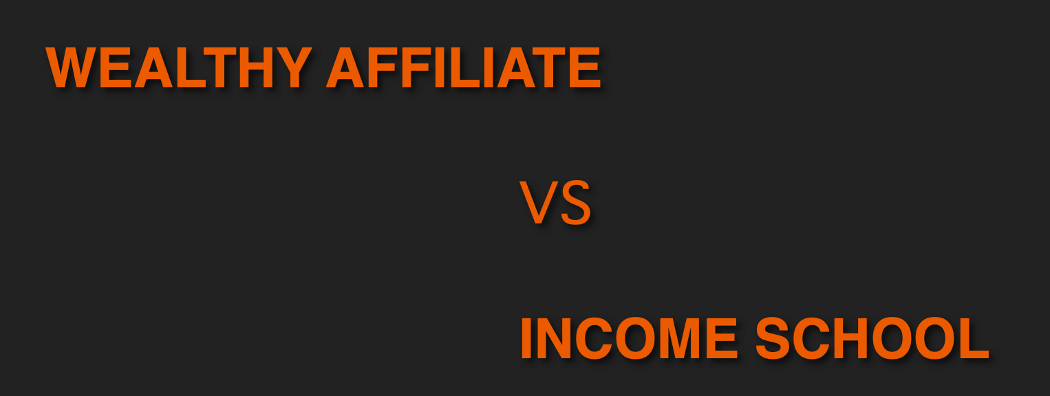 wealthy affiliate vs income school