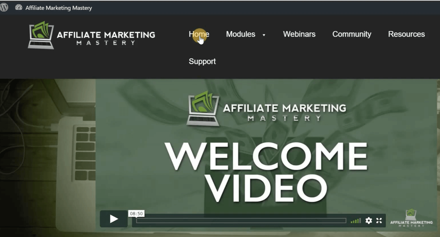 affiliate-marketing-mastery-welcome-video